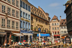 La Place de la Cathedrale in Strasbourg Royalty Free Stock Photography