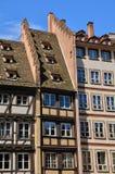 La Place de la Cathedrale a Strasburgo Immagine Stock