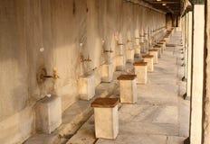 La place de lavage. Photo libre de droits