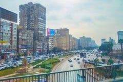 La place de sphinx, Gizeh, Egypte images libres de droits