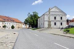 La place de Spisska Sobota Photos libres de droits