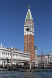 La place de St Mark - Venise - Italie Photographie stock libre de droits