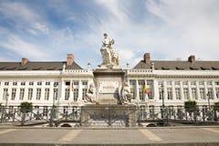 La place du martyre, Bruxelles image libre de droits
