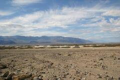 La place la plus sèche sur terre - vallée de mort Image libre de droits