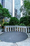 La place olympique en Hong Kong Park, Hong Kong, Chine Photos stock
