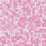 La place rose couvre de tuiles la texture sans couture de vecteur illustration libre de droits
