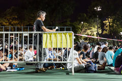 La Place Tiananmen proteste l'événement en Hong Kong Photo libre de droits