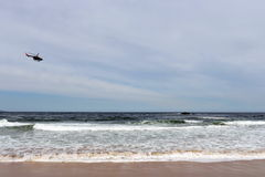 La plage à Vina del Mar Image libre de droits