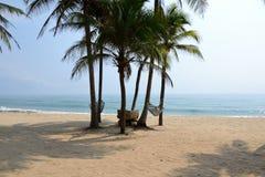 La plage. Photos stock