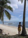 La plage 4 photos libres de droits