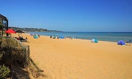 La plage australienne Images stock