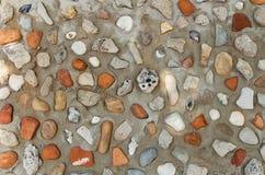 La plage bascule le mur Images libres de droits