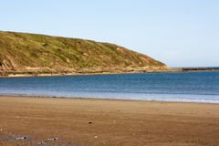 La plage chez Filey image stock