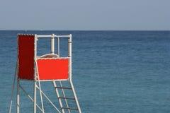 La plage chez la France agréable, Cote Azur images stock