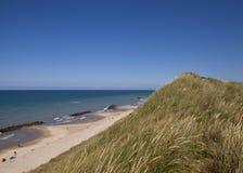 La plage chez Lonstrup Images stock