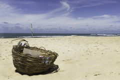 La plage d'amour dans le Pipa Photo stock