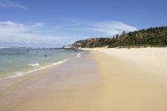 La plage d'amour dans le Pipa Photographie stock libre de droits