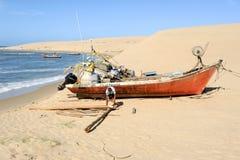 La plage de Barra de Valizas en Uruguay Photos libres de droits