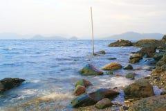 La plage de bayside à 2016 Photographie stock libre de droits