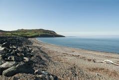 La plage de Greystone, Irlande Image libre de droits