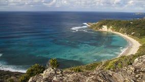 La plage de Ned Images stock