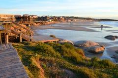 La plage de Rivero Image libre de droits