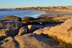 La plage de Rivero Images stock