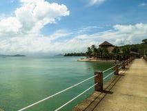 La plage en mer d'Andaman Photos libres de droits