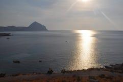 La plage en San Vito Lo Capo photographie stock libre de droits