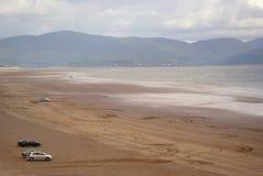 La plage irlandaise Photo libre de droits