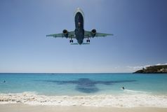 La plage la plus bruyante Photographie stock libre de droits