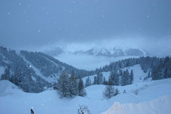 La Plagne Photos stock