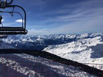La Plagne Glacier Royalty Free Stock Photo