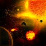 La planète du soleil Photographie stock