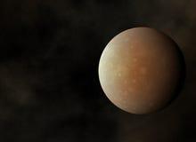 La planète rouge sur le cosmos tient le premier rôle des milieux Photographie stock libre de droits