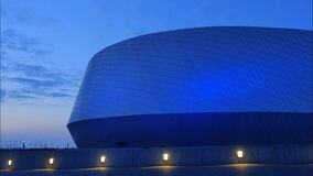 La plan?te bleue, aquarium, Copenhague, Danemark banque de vidéos