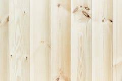 La planche beige légère La texture en bois Le fond Photo libre de droits
