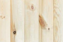 La planche beige légère La texture en bois Le fond Photographie stock libre de droits