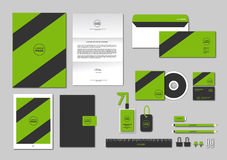 La plantilla de la identidad corporativa para su negocio incluye la cubierta CD, Foto de archivo libre de regalías