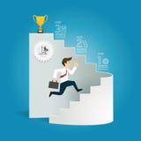 La plantilla del estilo del corte del papel del diagrama del negocio/se puede utilizar para adentro libre illustration
