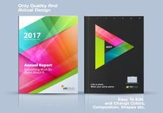 La plantilla del vector del negocio, diseño del folleto, informe anual abstracto, cubre la disposición moderna ilustración del vector