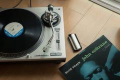 La plaque tournante audio-technica photo libre de droits