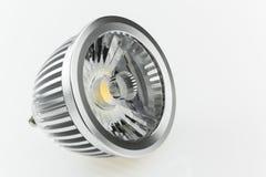 La plastica di alta qualità ha sparso la luce sulle lampadine di GU10 LED Immagini Stock Libere da Diritti