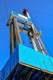 La plate-forme de forage à forer pour le pétrole et le gaz Image libre de droits