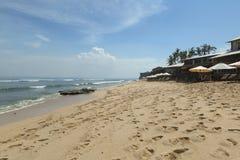 La playa de Balangan es una del más hermosa de Bali Foto de archivo libre de regalías