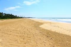 La playa de Bentota Imágenes de archivo libres de regalías