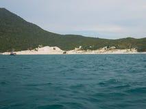 La playa de Farol en Arraial hace Cabo, el Brasil Fotografía de archivo libre de regalías