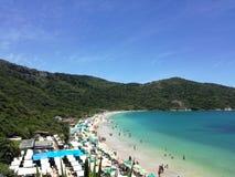 La playa de Forno, Arraial hace Cabo, el Brasil fotos de archivo