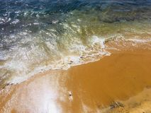 La playa de galle hace frente a Sri Lanka foto de archivo