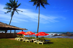 La playa de la Goa-India. Fotografía de archivo libre de regalías